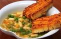 Sopa de Legumes com Tosta de Pesto