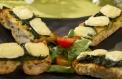 Bruschetta de Espinafres e Queijo Brie