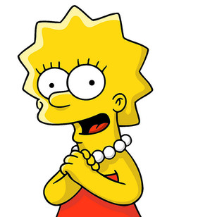 Bart Simpson Fluffy Marge Dos Simpsons And Lisa