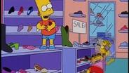 The Simpson:Shoe Fight