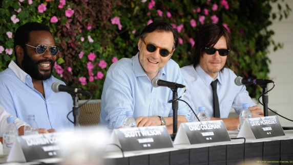 The Walking Dead 4- Desayuno -Comic Con 2013
