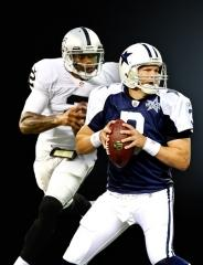 Thanksgiving NFL Match: Raiders at Cowboys