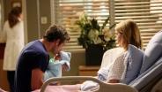 """""""Grey Anatoomia"""" 10. hooaeg Meredith koos beebiga"""