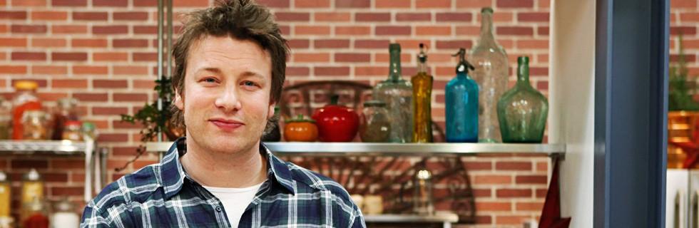 Jamie Oliver kokkab kodus
