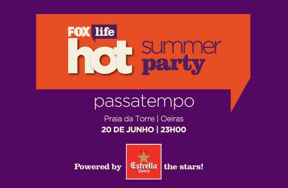 PASSATEMPO 'FOX LIFE HOT SUMMER PARTY'