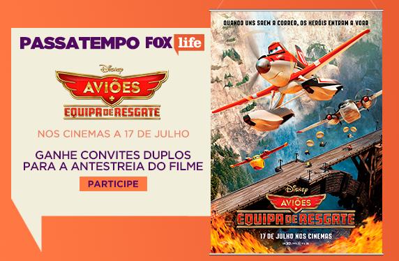 PASSATEMPO 'AVIÕES: EQUIPA DE RESGATE' FOX LIFE