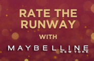 Rate the Runway con Maybelline New York